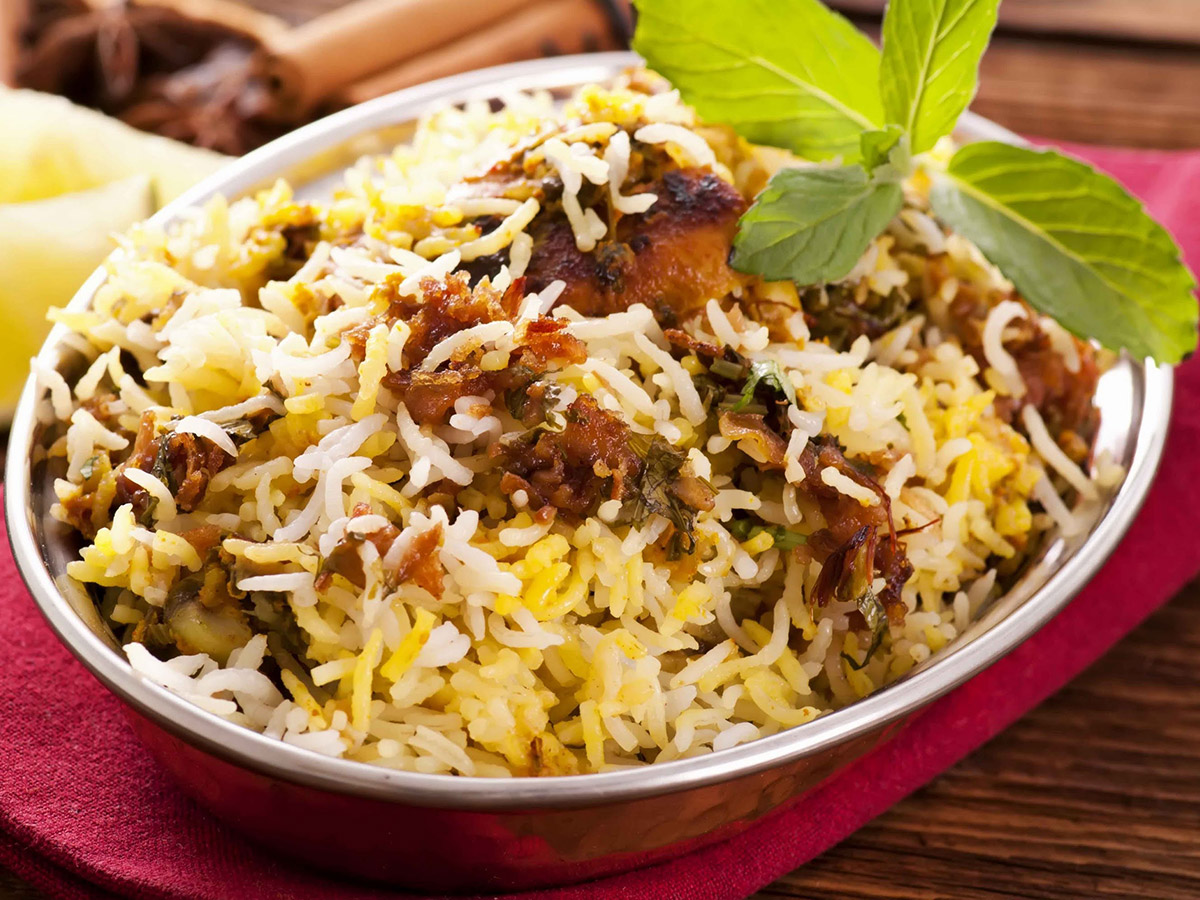Un délicieux briyani