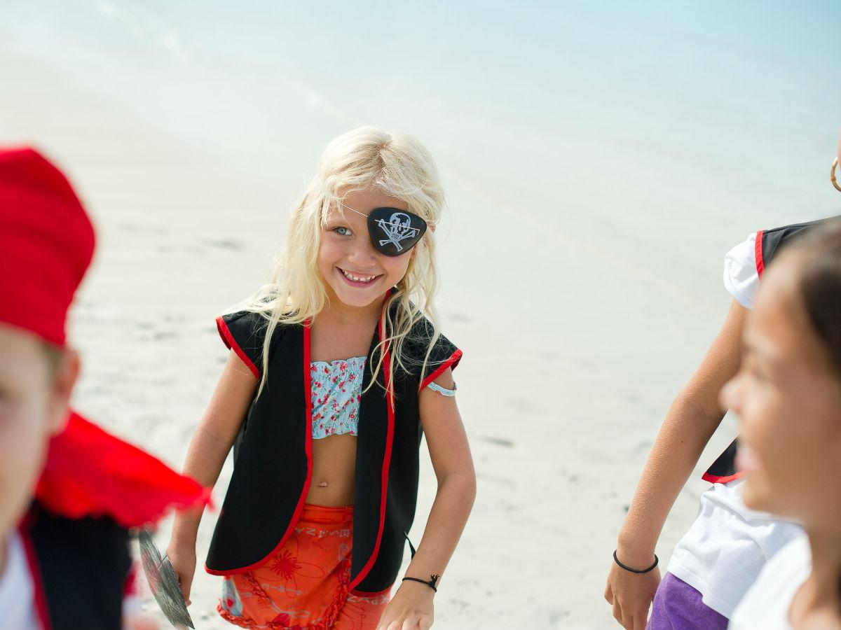 Journée sur le thème des pirates au kids club !