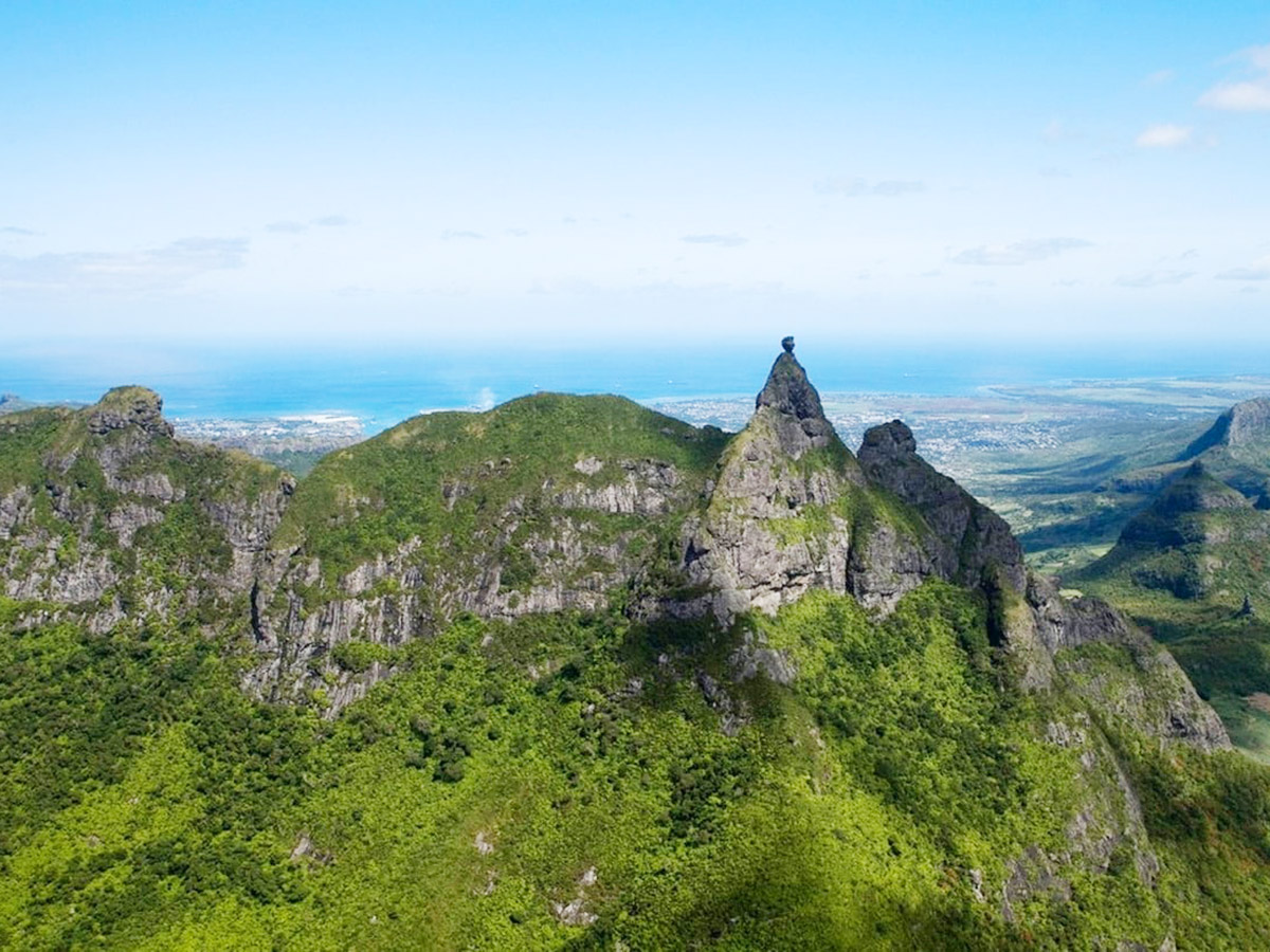 Le sommet le plus difficile de l'île Maurice