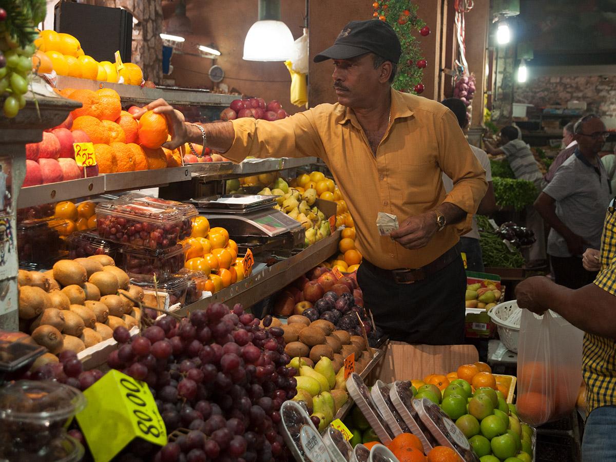 Les fruits frais du marché de Port Louis