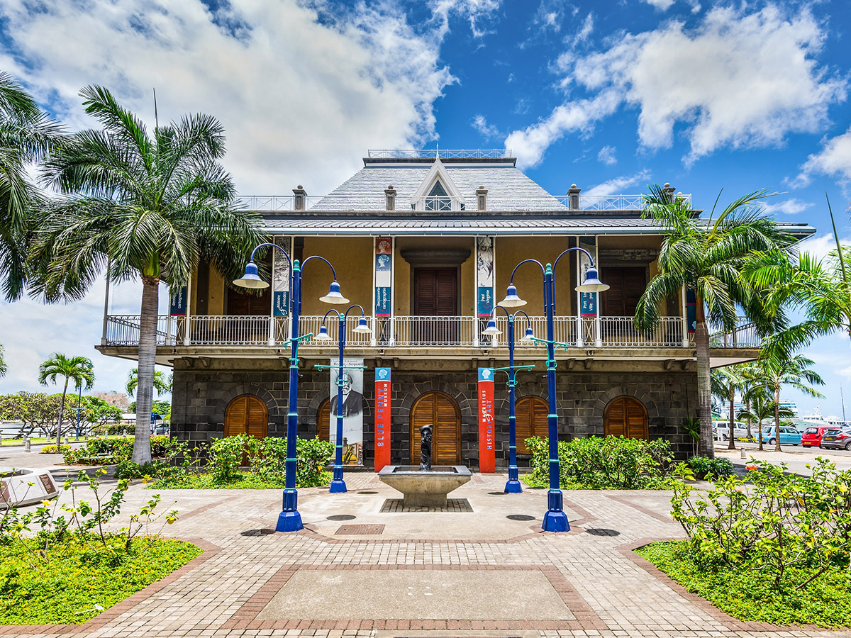 L'entrée du musée Blue Penny
