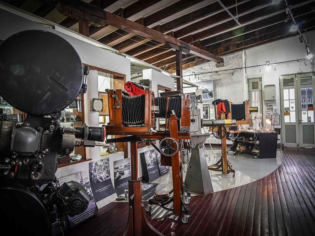L'intérieur du musée de la photographie