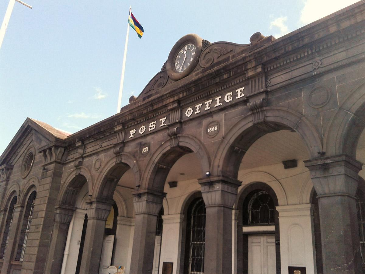 La façade du Musée de la Poste
