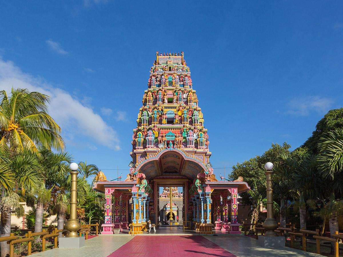 Le très coloré temple Kaylasson