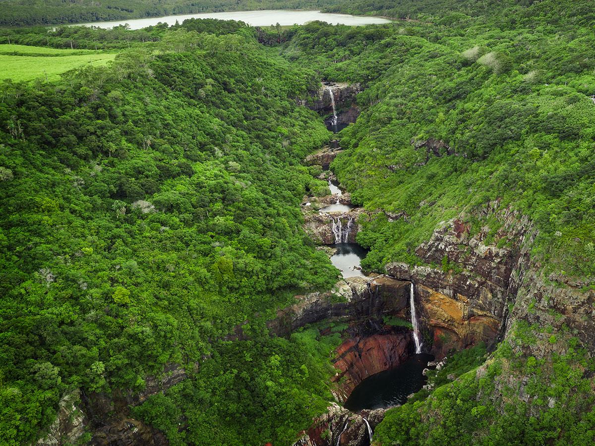 Les sept cascades - Tamarind Falls