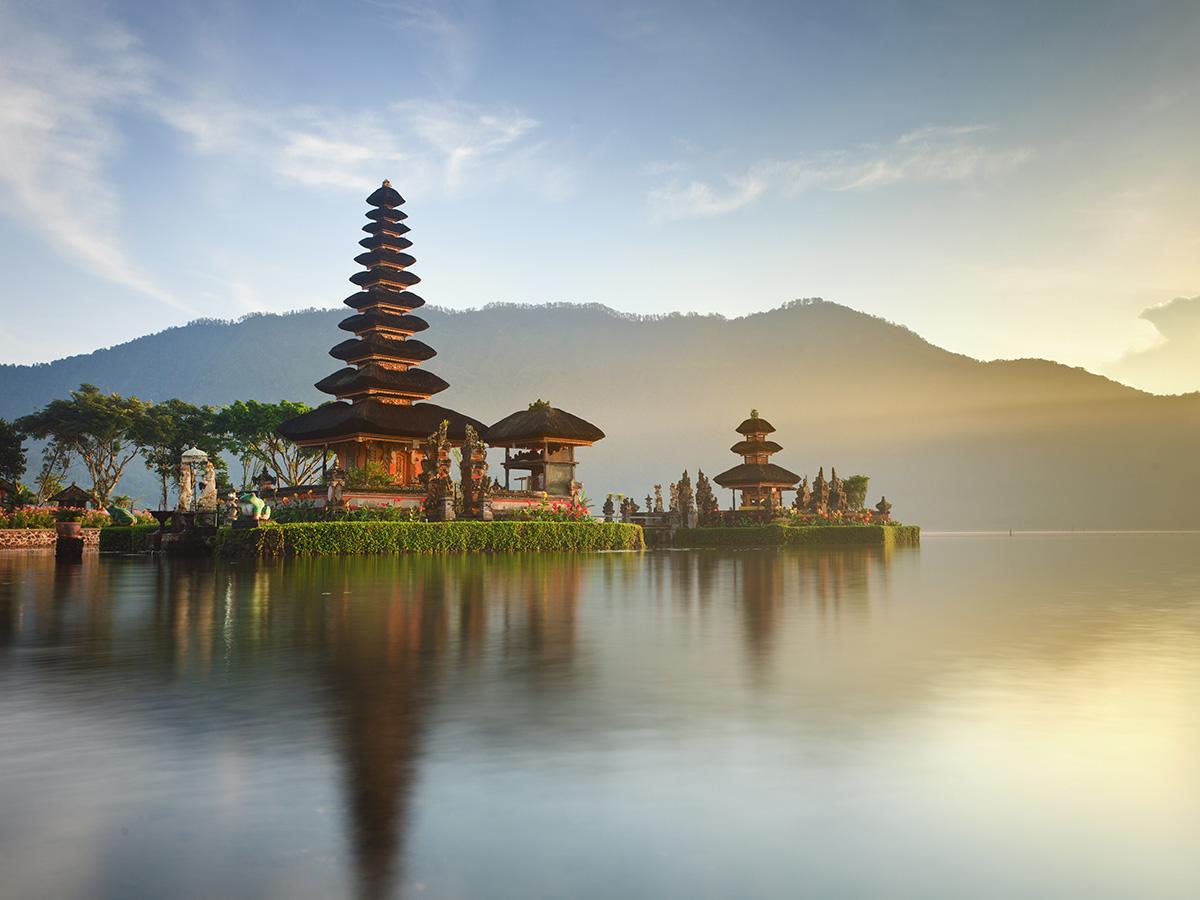 Pura Ulun Danu Bratan à Bali
