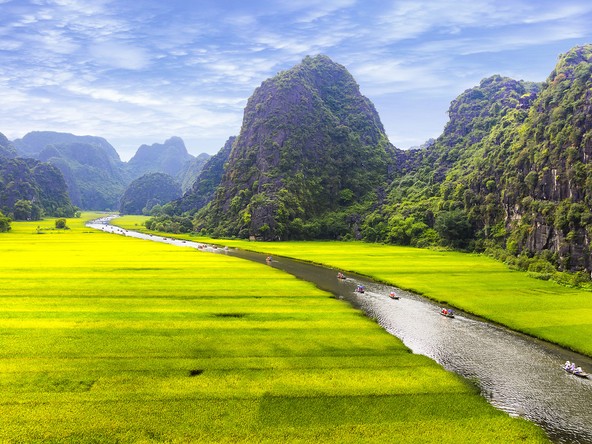 Ninh Binh - Baie d'Halong terrestre au Vietnam