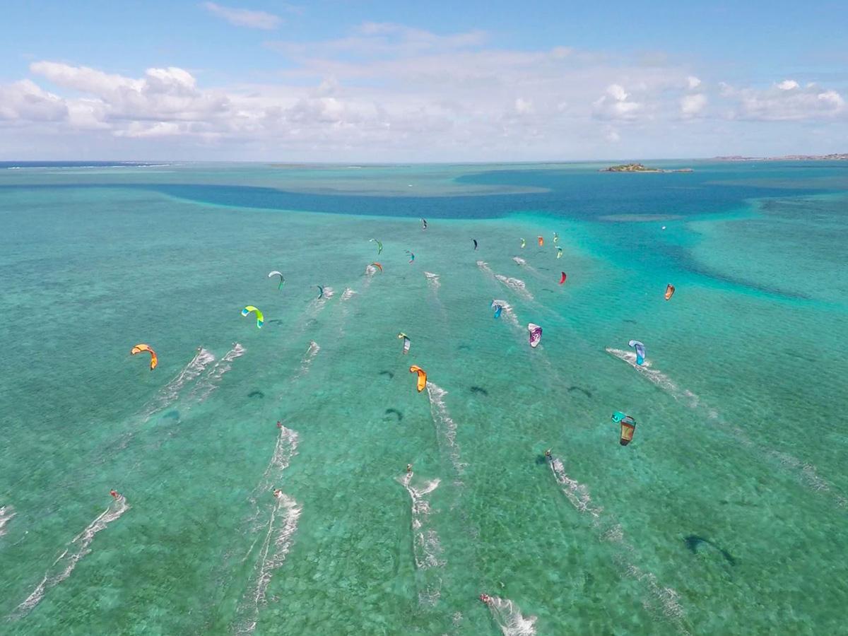 Le kitesurf, sport phare à l'île Rodrigues