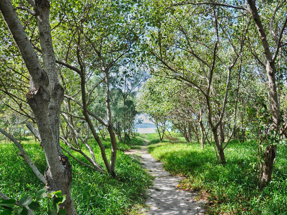 De superbes parcours de randonnée sur l'île