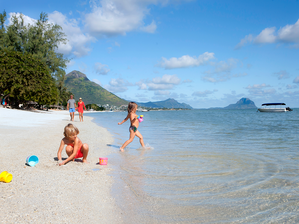 Des plages idéales pour les familles