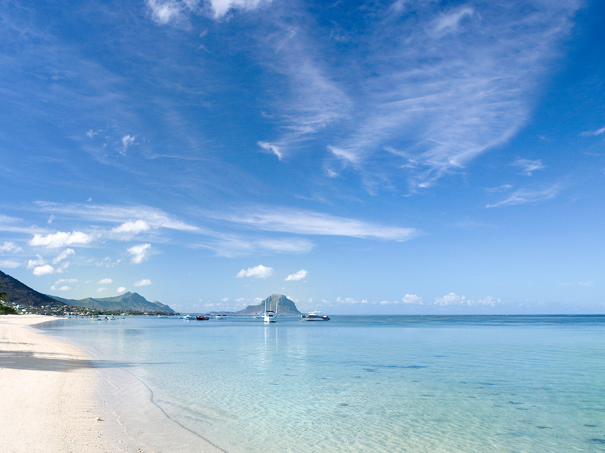 Les superbes plages mauriciennes