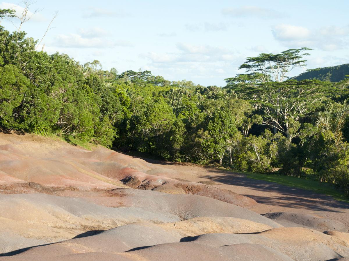 La terre des sept couleurs à Chamarel
