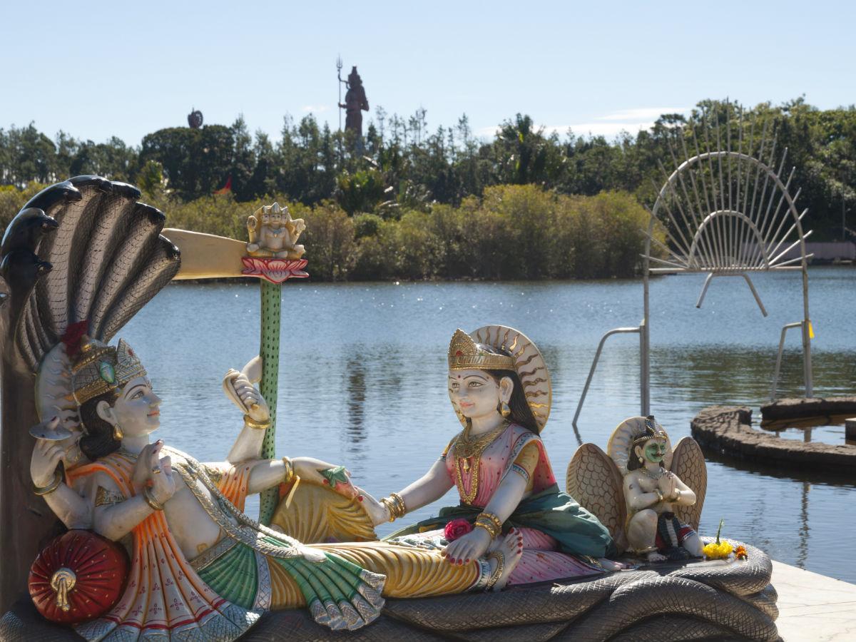 L'héritage hindoue à Grand Bassin