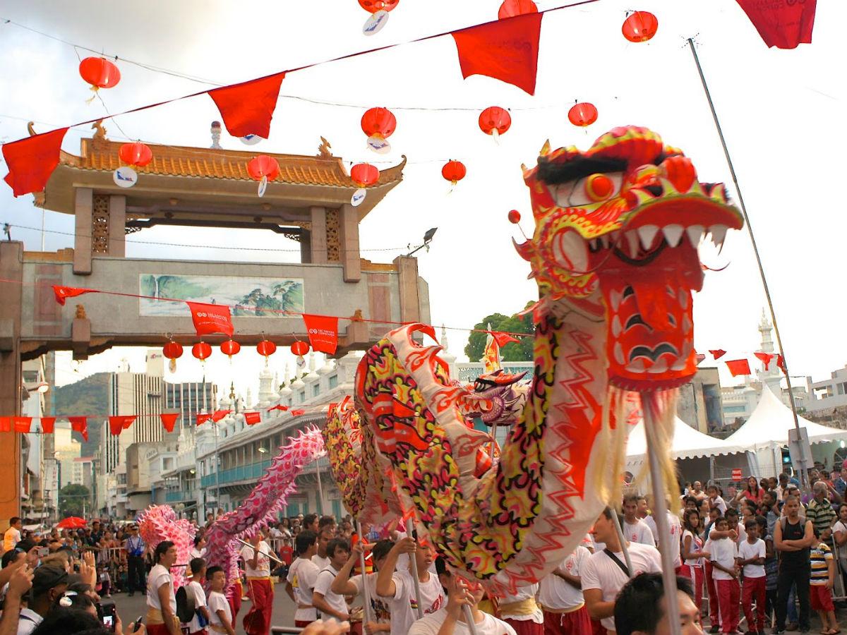 Les fêtes traditionnelles chinoises célébrées sur l'île