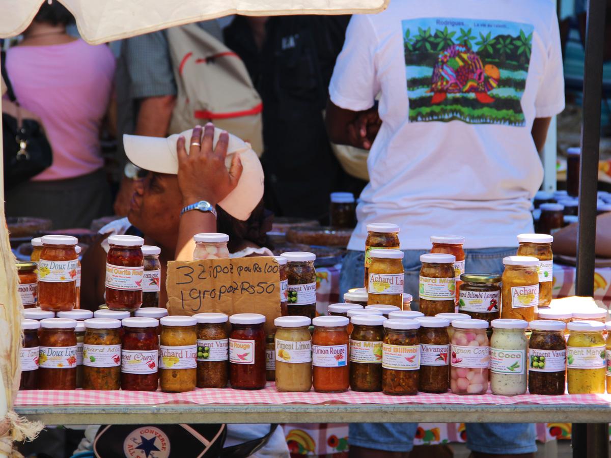 Les marchés de Rodrigues