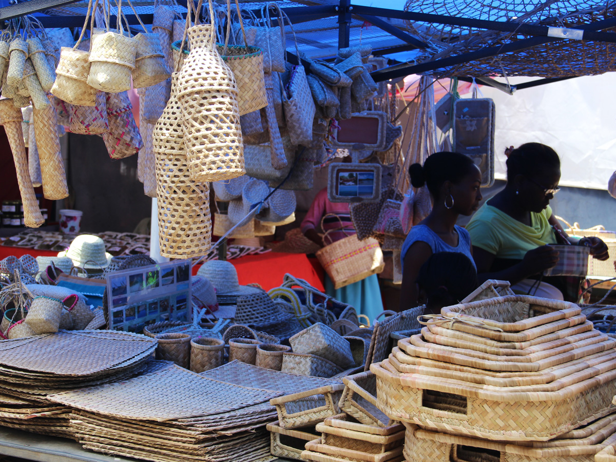 Confections artisanales au marché