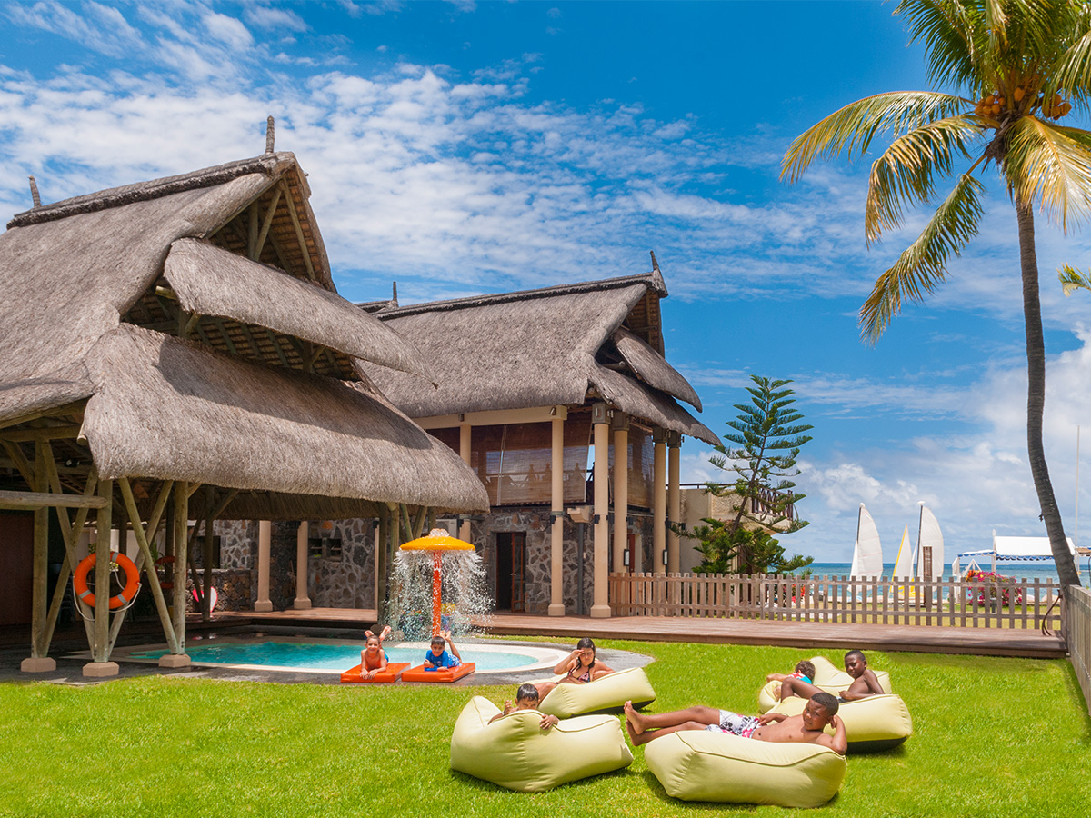 Le coin enfants de l'hôtel Hilton Mauritius Resort & Spa