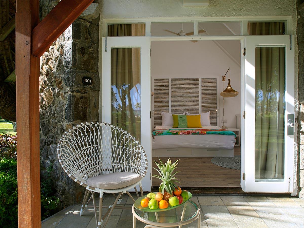 Les bungalows familiaux de La Pirogue Resort & Spa