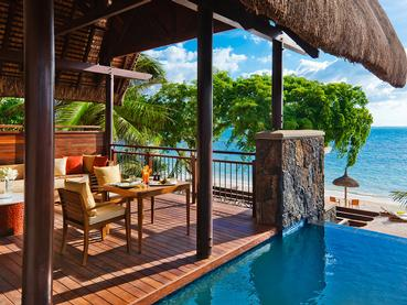 Ocean Front Pool Suite de l'Angsana Balaclava