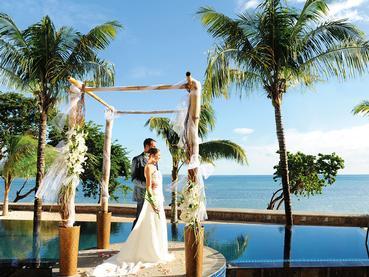 Mariage à l'hôtel Angsana Balaclava à l'Ile Maurice
