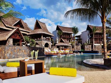 La piscine de l'hôtel Angsana Balaclava