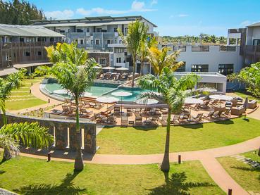 La piscine de la résidence Be Cosy à l'île Maurice