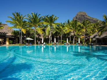 La piscine de l'hôtel Paradis Beachcomber au Morne