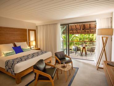 Ocean Room du Paradis Hotel à l'île Maurice