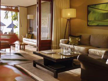 Senior Suite Beachfront du Paradis Hotel à l'île Maurice