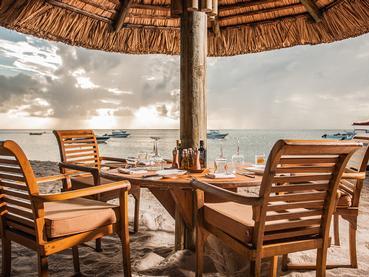 Le restaurant La Palma du Paradis Beachcomber