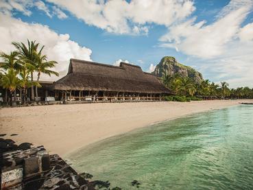 Vue du restaurant Blue Marlin du Paradis Beachcomber