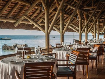 Le restaurant Blue Marlin de l'hôtel Paradis