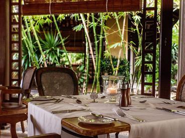 Le restaurant Le Brabant du Paradis Beachcomber