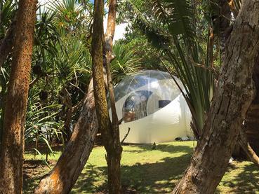Double Bedroom Suite du Bubble Lodge à Bois Chéri