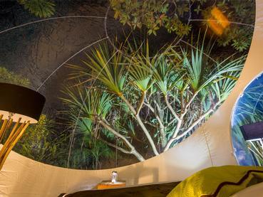 Contemplez les étoiles depuis le Bubble Lodge à l'île Maurice