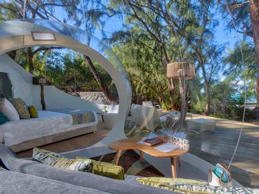 Ocean Paradise du Bubble Lodge à l'île aux Cerfs