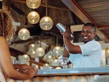 Rafraîchissez vous au C Bar de l'hôtel C Mauritius