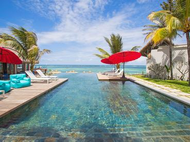 La piscine du C Mauritius, une adresse dans l'air du temps