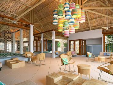 Le lobby de l'hôtel C Mauritius situé à Palmar