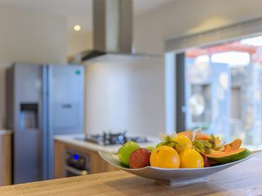 Cuisine privée de votre villa au Clos du Littoral à l'île Maurice