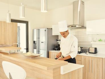 Bénéficiez d'un Chef durant votre séjour au Clos du Littoral