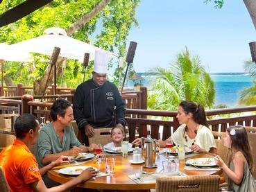 Le restaurant La Distellerie du Club Med La Plantation d'Albion