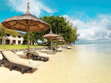 La superbe plage du Club Med La Pointe Aux Canonniers