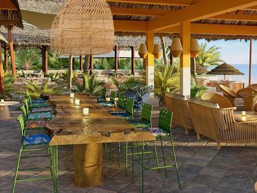 Détente au Blue Alma Gourmet Lounge Bar du Club Med