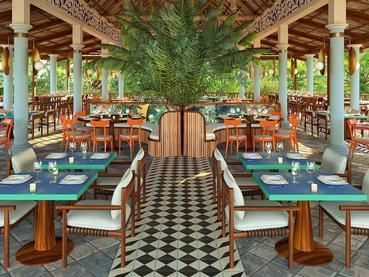 Le restaurant La Belle Créole du Club Med La Pointe Aux Canonniers