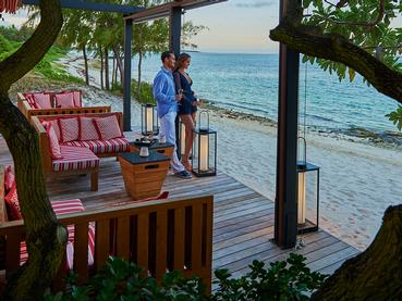 Profitez d'un moment en toute intimité au restaurant La Spiaggia du Constance