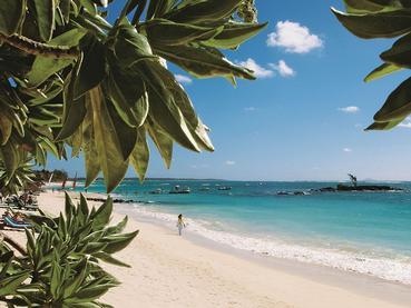 La plage de rêve de l'hôtel Constance Belle Mare Plage