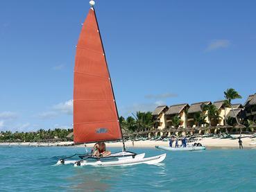 Activité nautique de l'hôtel Constance Belle Mare Plage