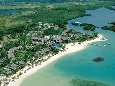 Vue du Constance Le Prince Maurice, l'un des meilleurs hôtels de luxe de l'île