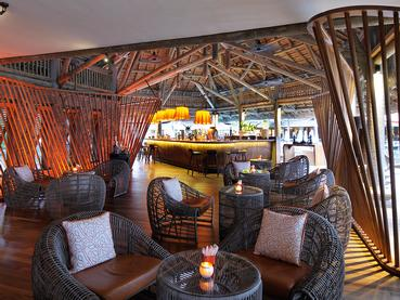 Le bar Laguna du Prince Maurice situé à Belle Mare